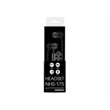 Наушники гарнитура вакуумные Nomi NHS-175 Black