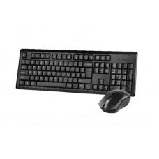 Комплект клавиатура + мышь Wireless A4Tech 4200N (GR-92+G3-200N) Black USB