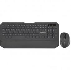 Комплект клавиатура + мышь Wireless Defender Berkeley C-925 Black (45925) USB