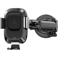 Автодержатель Baseus Wireless Smart 2А Black (468803)