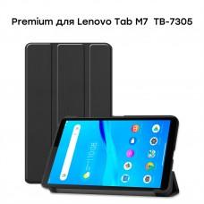 Чехол книжка TPU Airon Premium для Lenovo Tab M7 TB-7305 Black (4821784622454)