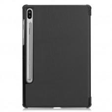 Чехол книжка TPU Airon Premium для Samsung Tab S6 10.5 T865 Black (4822352781020)