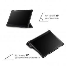 Чехол книжка TPU Airon Premium для Lenovo Tab P10 TB-X705 Black (4822352781025)