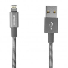Кабель USB-Lightning Verbatim 1m Grey (48860)