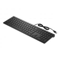 Клавиатура HP Pavilion 300 (4CE96AA) Black USB