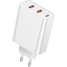 Адаптер сетевой Baseus PPS 3USB 5A QC3.0 60W White (522330)