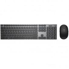 Комплект клавиатура + мышь Wireless Dell Premier KM717 (580-AFQF) USB Grey