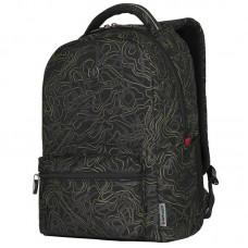 Рюкзак для ноутбука Wenger Colleague Black Fern Print 16 (606466)