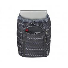 Рюкзак для ноутбука 16 Wenger Cohort Black Native Print Black (606475)