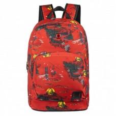 Рюкзак для ноутбука Wenger Crango 16 Rust Alps Print Red (610194)