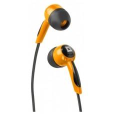 Наушники вакуумные Defender Basic-604 Black/Orange (63606)