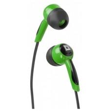 Наушники вакуумные Defender Basic-604 Black/Green (63607)
