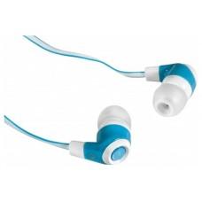 Наушники вакуумные Defender Trendy 702 White/Blue (63702)