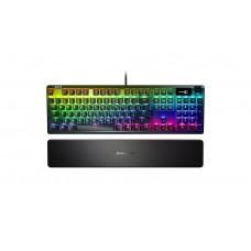 Клавиатура SteelSeries Apex 7 Red Switch Ru (64642) Black USB