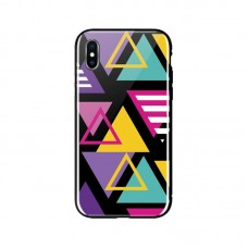 Чехол накладка TPU WK WPC-087 для iPhone XS Shiny Triangle (681920360896)
