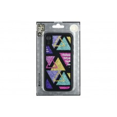 Чехол накладка TPU WK WPC-087 для iPhone XR Shiny Triangle (681920360902)