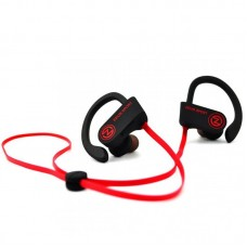Наушники гарнитура вакуумные AirOn Zeus Sport Black/Red (6945545500230)