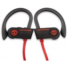 Наушники гарнитура вакуумные Bluetooth AirOn Zeus Outdoor Black (6945545500234)
