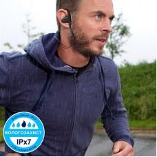 Наушники гарнитура вакуумные Bluetooth AirOn Zeus Running Black (6945545500236)