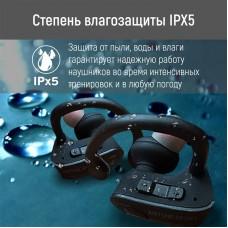 Наушники гарнитура вакуумные Bluetooth AirOn AirTune Sport Black (6945545521558)