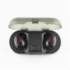 Наушники гарнитура вакуумные Bluetooth AirOn AirTune Freedom Black (6945545521559)