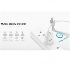 СЗУ Joyroom L-M226 2USB 2.4A White + cable USB-Lightning (6956116775063)