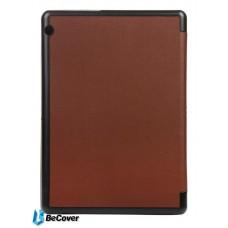 Чехол книжка PU BeCover Smart для Huawei Mediapad T3 10 Brown (701506)
