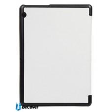 Чехол книжка PU BeCover Smart Case для Huawei Mediapad T3 10 White (701510)