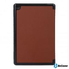 Чехол книжка PU BeCover Smart для Huawei Mediapad M5 Lite 10 Brown (702960)