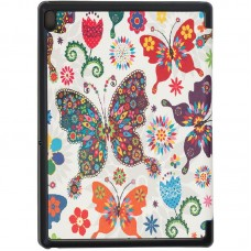 Чехол книжка PU BeCover Smart для Lenovo Tab E10 TB-X104 Butterfly (703467)