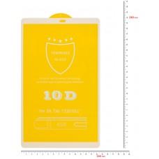 Защитное стекло BeCover Full Glue для Samsung Tab A 10.1 T510 T515 White (703742)
