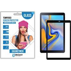 Защитное стекло BeCover Full Glue для Samsung Tab A 10.5 T590 T595 Black (703743)