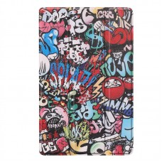 Чехол книжка PU BeCover Smart для Samsung Tab A 8.0 T290 T295 T297 Graffiti (704293)