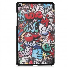 Чехол книжка PU BeCover Smart для Samsung Tab S5e T720 T725 Graffiti (704302)