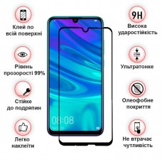 Защитное стекло BeCover Full Glue для Huawei Honor 9x Black (704618)