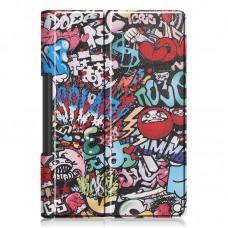 Чехол книжка PU BeCover Smart для Lenovo Yoga Smart Tab YT-X705 Graffiti (704705)