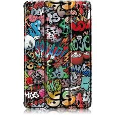 Чехол книжка PU BeCover Smart для Lenovo Tab M8 TB-8505 Graffiti (705026)