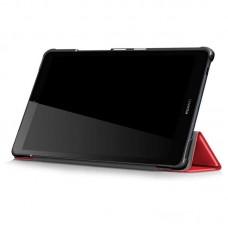 Чехол книжка PU BeCover Smart Case для Huawei MediaPad M5 Lite 8 Red (705032)