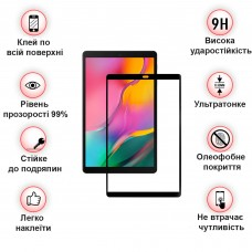 Защитное стекло BeCover Full Glue для Apple iPad Pro 11 Black (2020 2018) (705084)