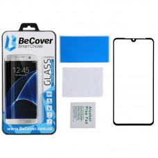 Защитное стекло BeCover Full Glue для Huawei Y8p P Smart S Black (705142)