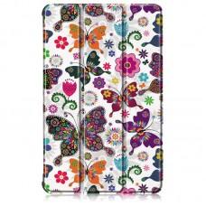 Чехол книжка PU BeCover Smart для Samsung Tab S6 Lite P610 P615 Butterfly (705194)