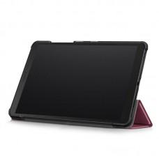 Чехол книжка PU BeCover Smart для Samsung Tab A 8.0 T290 T295 T297 Red Wine (705212)