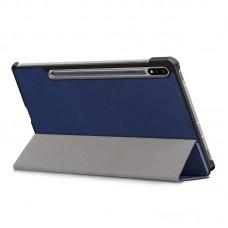 Чехол книжка PU BeCover Smart для Samsung Tab S7 T875 Deep/Blue (705221)