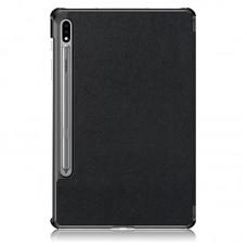 Чехол книжка PU BeCover Smart для Samsung Tab S7 Plus T970 T975 Black (705225)