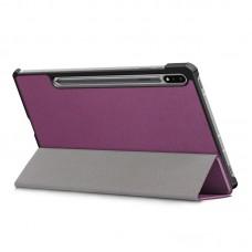 Чехол книжка PU BeCover Smart для Samsung Tab S7 Plus T970 T975 Purple (705228)