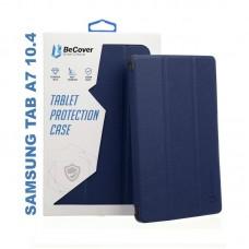 Чехол книжка PU BeCover Smart для Samsung Tab A7 T500 T505 T507 Deep/Blue (705286)