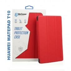 Чехол книжка PU BeCover Smart Case для Huawei MatePad T 10 Red (705395)