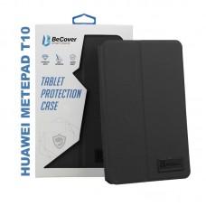 Чехол книжка PU BeCover Premium для Huawei MatePad T 10 Black (705443)
