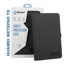 Чехол книжка PU BeCover Slimbook для Huawei MatePad T8 Black (705447)