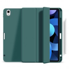 Чехол книжка TPU BeCover Direct Charge Pen для Apple iPad Air 10.9 2020 Dark Green (705529)